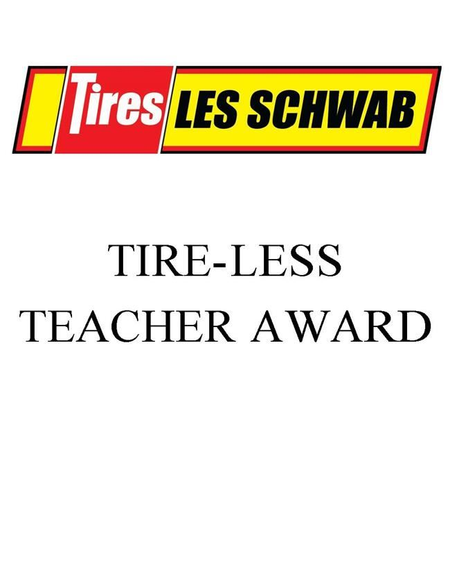 Les Schwab Tire-Less Teacher Award