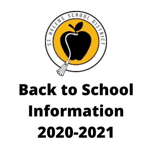 Back to School Information 20-21